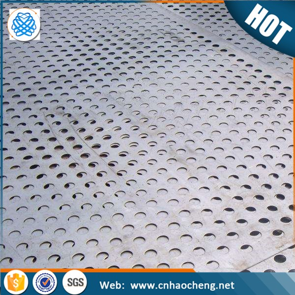 Custom 304 316 316L stainless steel micron hole perforated metal sheet/mesh