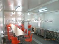 long lasting modular container homes for restaurant booth for sale