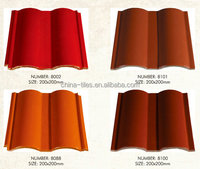 Cheapest Price Kerala Red Clay Semi-Cylindrical Roof Tile