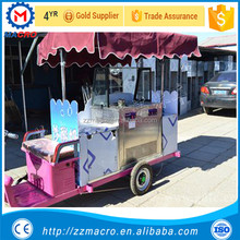 hot sale new design electric ice cream cart franchise in the philippines