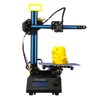 3D Printer Machine DIY Kit FDM Injection Molded with LCD Screen Off-line Printing Self-assembly for Artistic Design Education