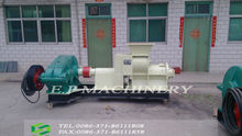 screw type coal/charcoal dust briquette making machine