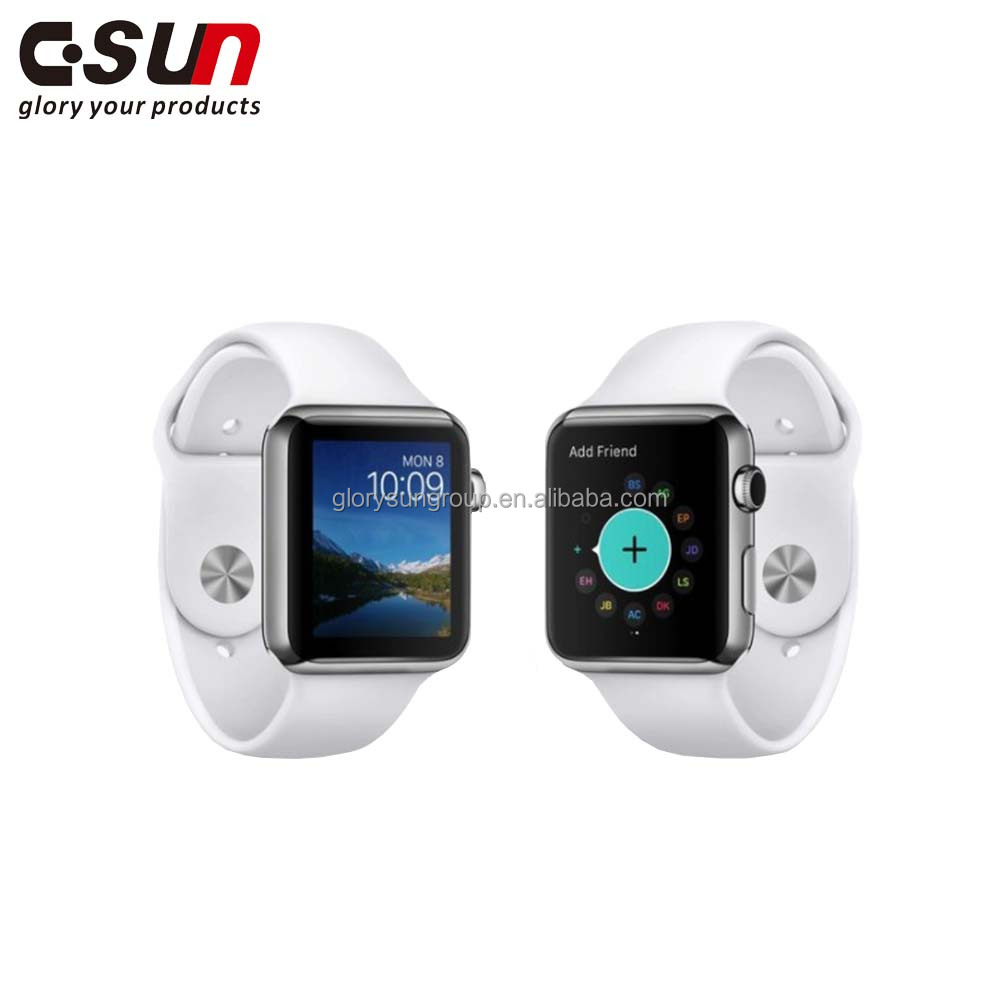 Non-toxic android mobile smart led watch fitbit