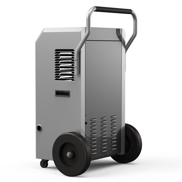 Portable Armrest Metal Big Wheel Industrial Dehumidifier