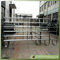 Galvanized corral panels