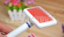 Plastic Gilling for Pet, White Cushion Gilling, Fashionable Pet Comb 1/3