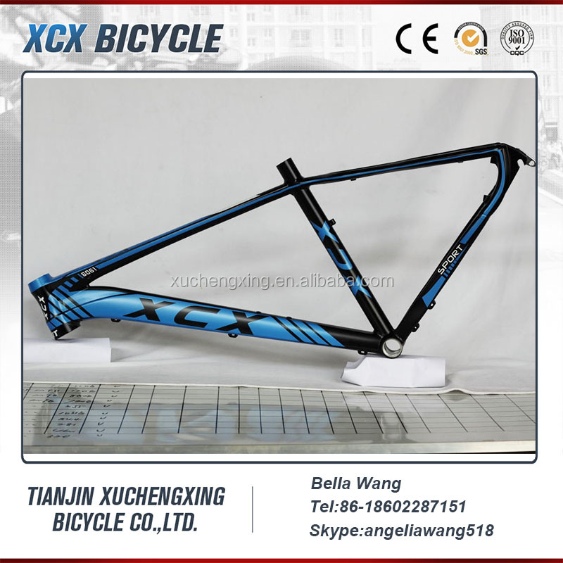 26/27.5/29er aluminium alloy 6061 mountain bicycle/bike frame XC