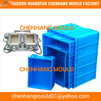 Plastic injection fish boxes moulds