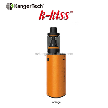 Kanger K-KISS Starter kit Pre-order! Wholesale Built-in Battery 6300mAh Replaceble Pyrex Tube SSOCC Free Vape Pen Starter Kit