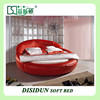 Wholesale floral furniture bedroom sets round bed DS-803