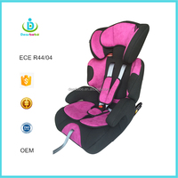 ECE R44 04 Ningbo Dearbebe Portable Group 1 2 3 Child Safety Booster Seat 9-36kg Baby Car Seat ISOFIX