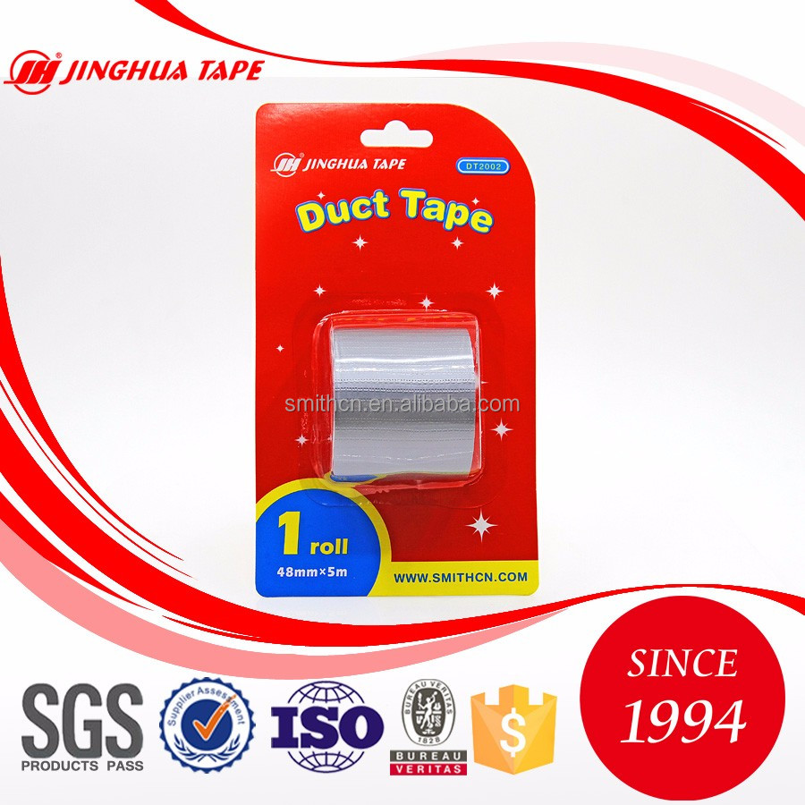 JINGHUA brand hot sale silver heat resistant hot melt adhesive duct tape