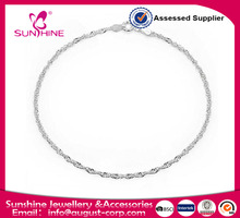 Wholesale Sterling Silver Anklet New Silver Design Anklet