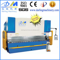 hot sales CE ISO9001 manual hand stainless metal steel sheet plate bending machine WC67K, used cnc press brake