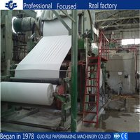 Toilet Paper / Tissue Paper Making Machine Waste Paper Recycling Machine