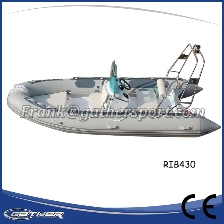 Gather Competitive Price 2017 Factory directly customized rib inflatable boat