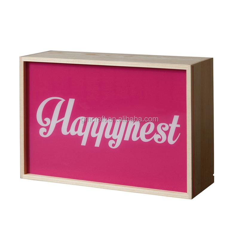 Acrylic Box Letters : Acrylic light box letters led buy