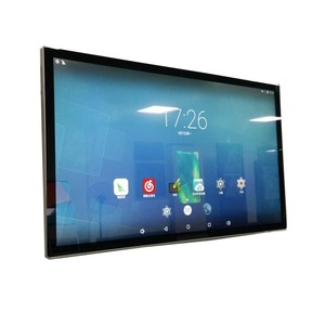 Android lcd tv lcd in store display screen retail store video player Supports horizontal or vertical display