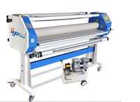 HOT! Top Selling 63 inch Automatic Hot Laminating Applicator, Hot and Cold Lamination, Roll to Roll laminating