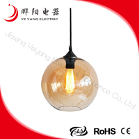 2014 New Design Low Price Lamp Work Glass Pendant