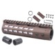 "Lightweight Gen3 Slim AR M4 Carbine 7"" Free Float Keymod Handguard with Key Mod Hand Guard Rail System For AR15 .223 5.56"