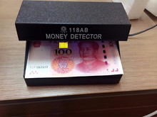 4W Longwave AA Battery Operated Ultraviolet Counterfeit Money Detector