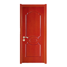 Solid teak wood door modern designs bedroom door