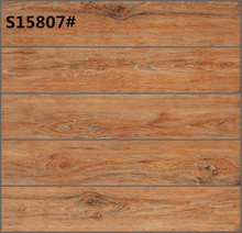 3D digital inkjet wood grain floor tiles 150x800mm