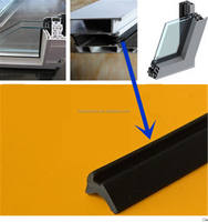 heat resistant aluminum window seal rubber weather strip for window