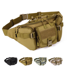 military Molle Bag elastic Fanny Pack Hiking Fishing Sports Hunting Waist Bags Tactical sports waist bag