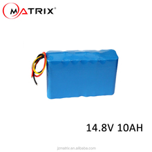 Electric Bike Battery 14.8v 10000mah Lithium ion battery 18650 Lithium Battery Packs