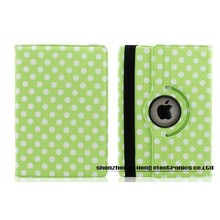 Tablet Cover Spot Leather 360 Degree Rotating Cases for iPad3 Smart Cover PU Leather Case for iPad 3