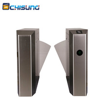 Card collector swipe electronic flap barrier turnstile gate