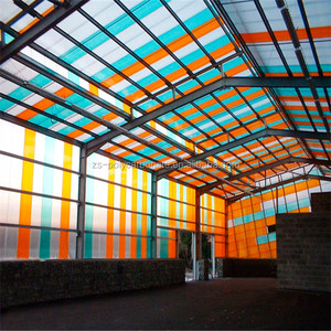Cheap Polycarbonate hollow sheet price for roofing skylight glazing