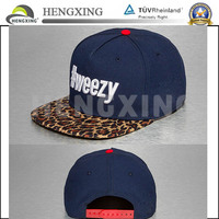 OEM/ODM Custom Hat Snapback /Embroidery Custom Hat/100% Cotton Snapback Hat Wholesale