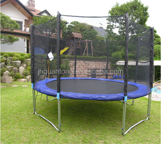 big trampoline new safety trampoline tent GSD trampoline with CE GS certification