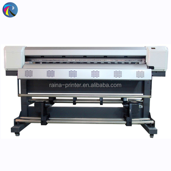 High speed 1.3m format eco solvent printer for sale in Guangzhou sublimation printer