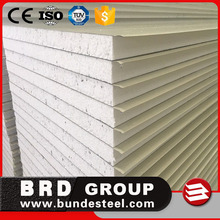 Factory price 50-100mm expanded polystyrene EPS sandwich wall panels