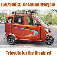 200cc Handicapped Tricycle with Passenger Seats