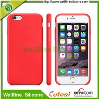 Customized colorful phone 6 silicone case