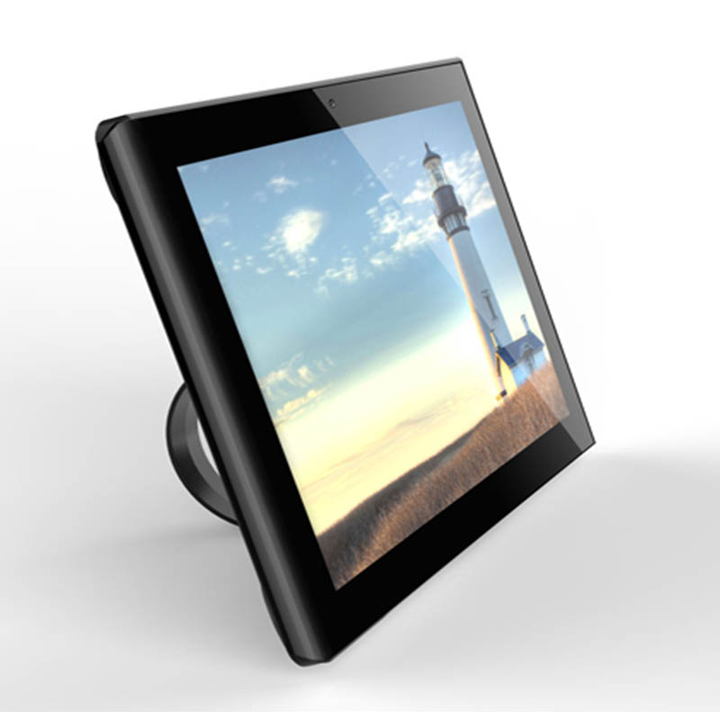 White / Black colour optional touch monitor 10.1 inch capacitive touch with Remote control support Earphone