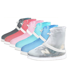 PVC waterproof safety rain boot / reusable shoe cover