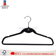 China wholesale cherry wooden suit hanger