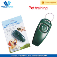Pet accessories dog training plastic whistle Clicker