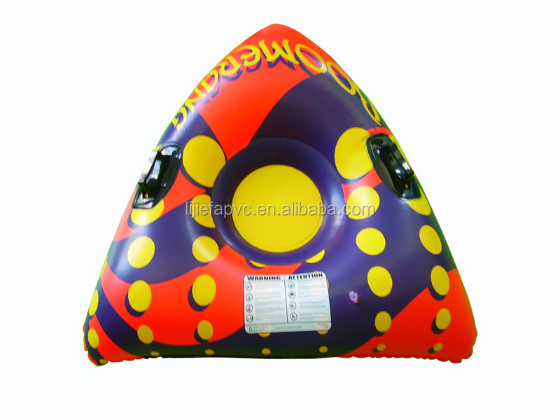 Hot sale inflatabale snow tube,triangle snow ski tube,Fashion design snow tube
