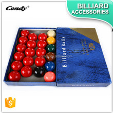 CONDY wholesale Aramith quality Set of 16 colorful Billiard Balls,snooker balls set,