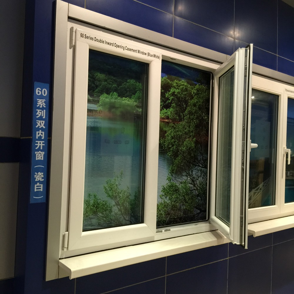 60mm series pvc casement window