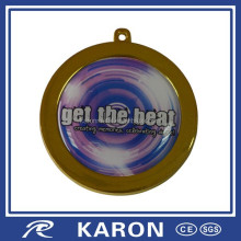 get the beat logo custom picture medal