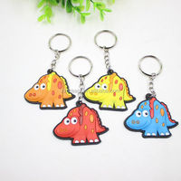 YiWu best sales unique key chain lucky animal key chain