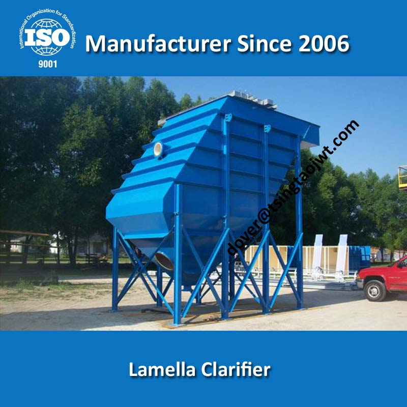 High Rate Lamella Sedimentation Tank